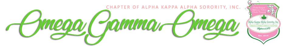 Omega Gamma Omega - Alpha Kappa Alpha Sorority Incorporated